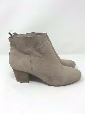 edd67670d2c STEVE MADDEN WOMEN'S HARBER TAUPE SUEDE LEATHER ANKLE BOOTS BOOTIES SIZE  7.5 | eBay