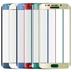 Rosso-Curvo-3D-VETRO-TEMPERATO-LCD-Proteggi-Schermo-per-Samsung-Galaxy