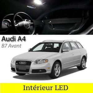 Kit-ampoules-a-LED-pour-l-039-eclairage-interieur-blanc-AUDI-A4-B7-Avant-Break