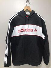 Adidas Trefoil Hoodie Herren Originals Kapuzen Pullover Sweatshirt white DU7780