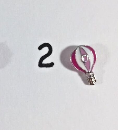 Balloons S mores Camping Authentic Origami Owl Charms Summer Fun Cotton Candy