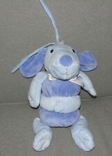 CARTERS BABY TYKES BLUE PUPPY DOG MUSICAL CRIB PULL TOY BRAHMS LULLABY LIGHT UP