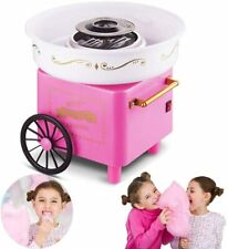 Countertop Cotton Candy Floss Maker Home Use Mini Marshmallow Machine Trolley