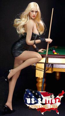 PHICEN 1//6 scale BLONDE Hair Beauty Seamless Female Figure Doll Set ❶USA❶