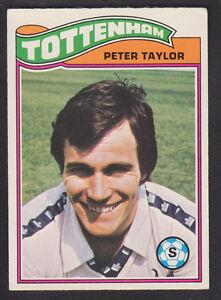 -#370- TOTTENHAM SPURS TOPPS-FOOTBALL ORANGE BACK 1978 STEVE PERRYMAN