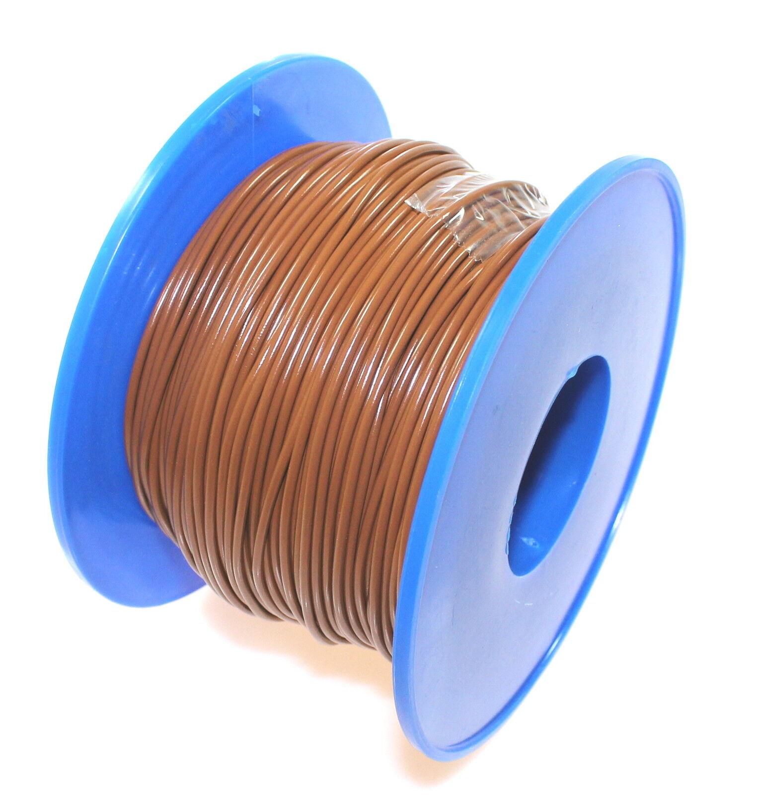 KFZ Kabel Leitung FLRy 1,0mm² 100m braun Fahrzeug Auto LKW Stromkabel FLY   Starke Hitze- und Abnutzungsbeständigkeit