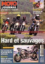 MOTO JOURNAL 1279 SUZUKI T 500 T500 HONDA RC 45 BIMOTA SB6 SUZUKI GSX-R 1100 97