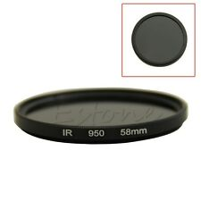 58mm IR 950 Infrared Infra-Red 950nm Filter Pass X-Ray DSLR Camera Lens HOT