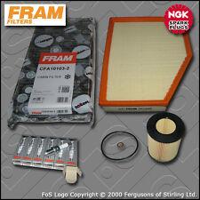 SERVICE KIT BMW 5 SERIES 520I E60 E61 M54 OIL AIR CABIN FILTER PLUGS (2003-2007)