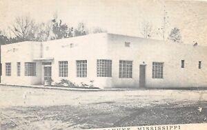 D91-Picayune-Mississippi-Postcard-1952-Walker-039-s-Cafe-Roadside
