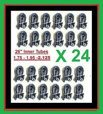 """Lot of 24 Bicycle Bike Cycle Tube 26/"""" x 1.75-2.125 Inner Tubes 26 inch New"""