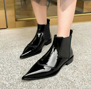 Chelsea Boots Womens Ankle Boots Pointy