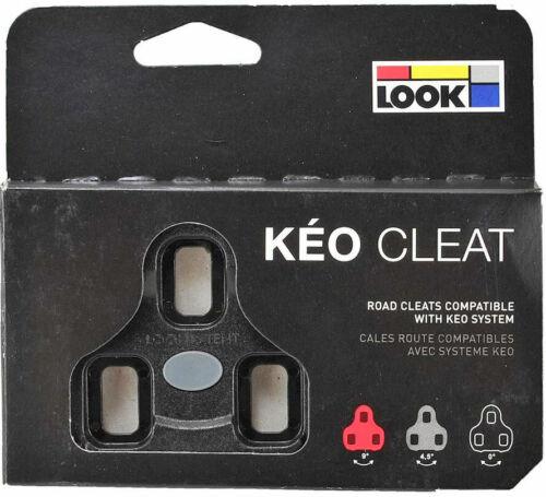 2 Max 2020 Genuine LOOK KEO Bi-Material Cleat Set Fit Classic FIXED 0° BLACK