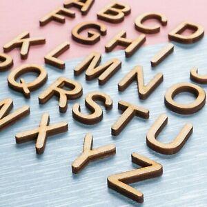 LETTERE-e-numeri-in-legno-MDF-forme-Decorazione-Scrapbook-Abbellimenti-Crafts