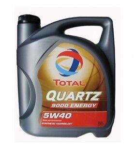 ACEITE PARA COCHE TOTAL QUARTZ 5W40 9000 ENERGY 5L LUBRICANTE SINTETICO