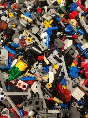 Lego Technic Lot 50 SMALL BULK Parts Bricks Connectors Pins Axles