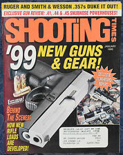 Magazine SHOOTING TIMES January 1999 !! SMITH & WESSON Model 686 .357 MAGNUM !!