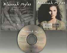 ALANNAH MYLES Family Secret w/ BIO PROMO DJ CD Single 1995 prcd6403 MINT USA