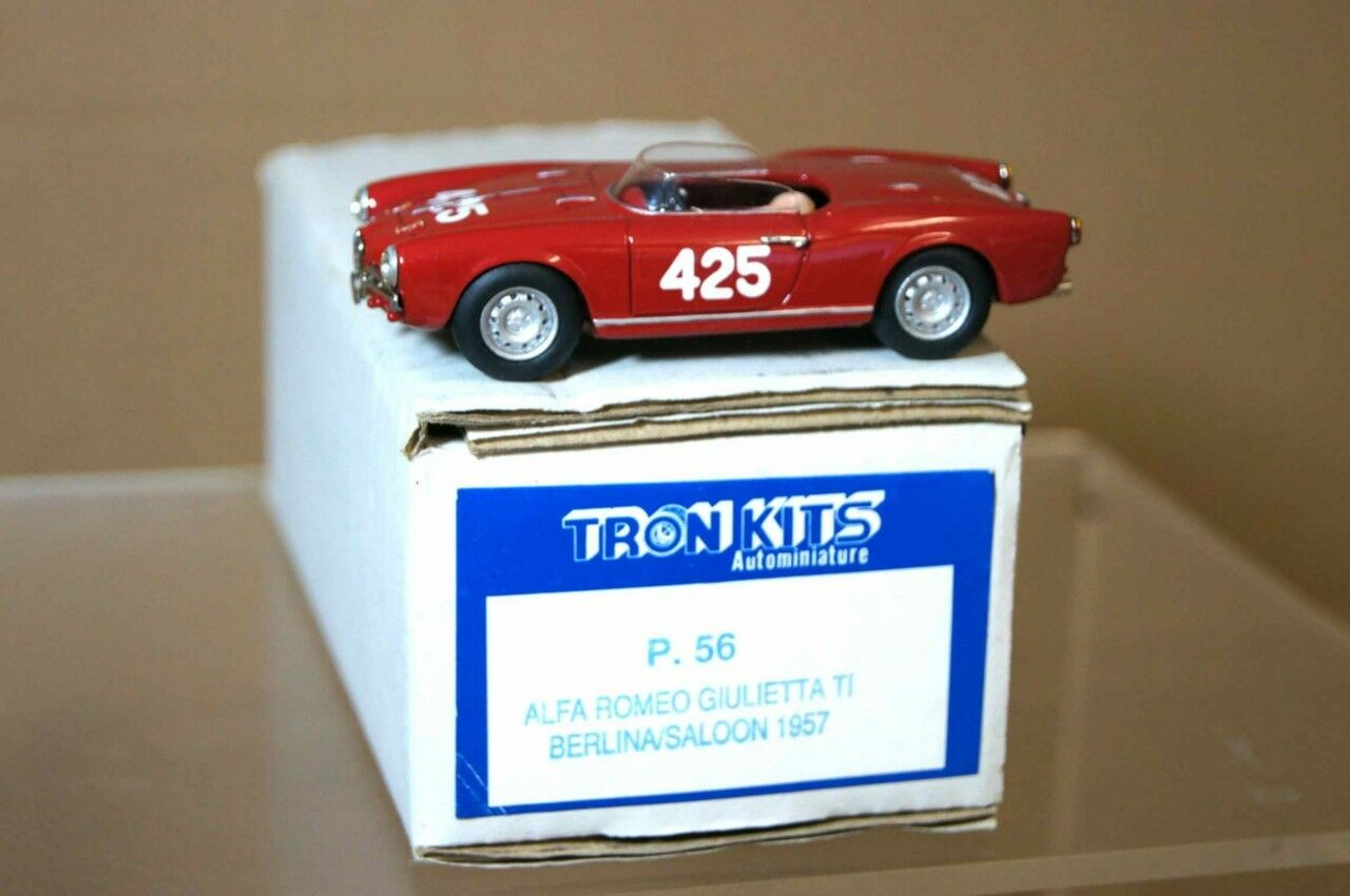 Tron 1957 Alfa Romeo Giulietta Spider Monoposto 425 Ar