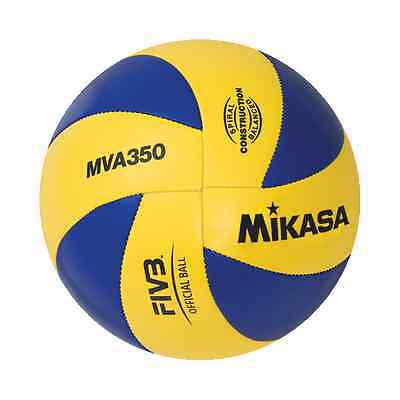 MIKASA Sports Official Olympic Volleyball Ball Indoor Outdoor Size 5 MVA350