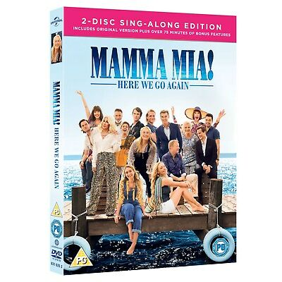 Mamma Mia! Here We Go Again – 2-Disc Sing-Along Edition (Includes Bonus Disc +