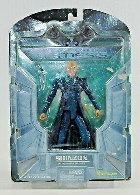 Art Asylum  2002  NIP Star Trek Nemesis SHINZON Action Figure