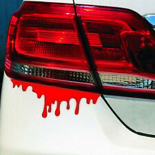 Roten Blut 3D FUN JDM DUB Car Decals Sticker Aufkleber Kontur Red Blood