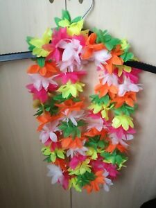 IngéNieux 2 Coloré Hawaien Leis-guirlandes-afficher Le Titre D'origine