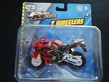 Maisto Honda CBR600RR Red 1/18 Motorcycle Bike