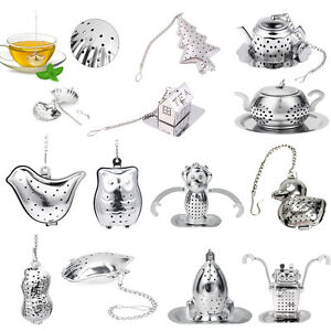 NEW-Loose-Tea-Infuser-Leaf-Strainer-Filter-Diffuser-Herbal-Spice-Stainless-Steel