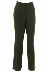 Green Olive 29 Pantaloni Length donna Trousers Ladies Busy verde da operati lunghezza 29 intelligenti oliva Smart nvaBqxU
