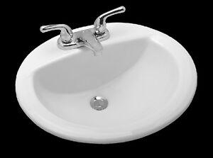 Briggs Bathroom Sinks : Briggs-20-x-17-Oval-China-5515-130-Self-Rimming-Lavatory-Sink-in-White