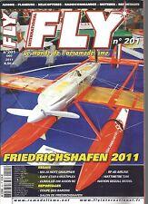 FLY N°201 FRIEDRICHSHAFEN 2011 / MX-20 HOTT GRAUPNER / EASY STAR II /CUMULUS 200