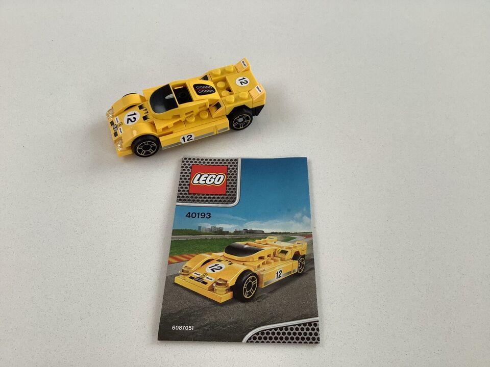 Lego World of Racers, 11 modeller indenfor Racers, se