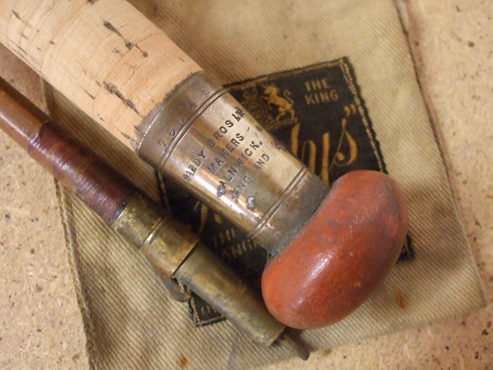 Vintage very early HARDY 12' 6    2 piece Palacona Cane Salmon Fly Rod   (1927).