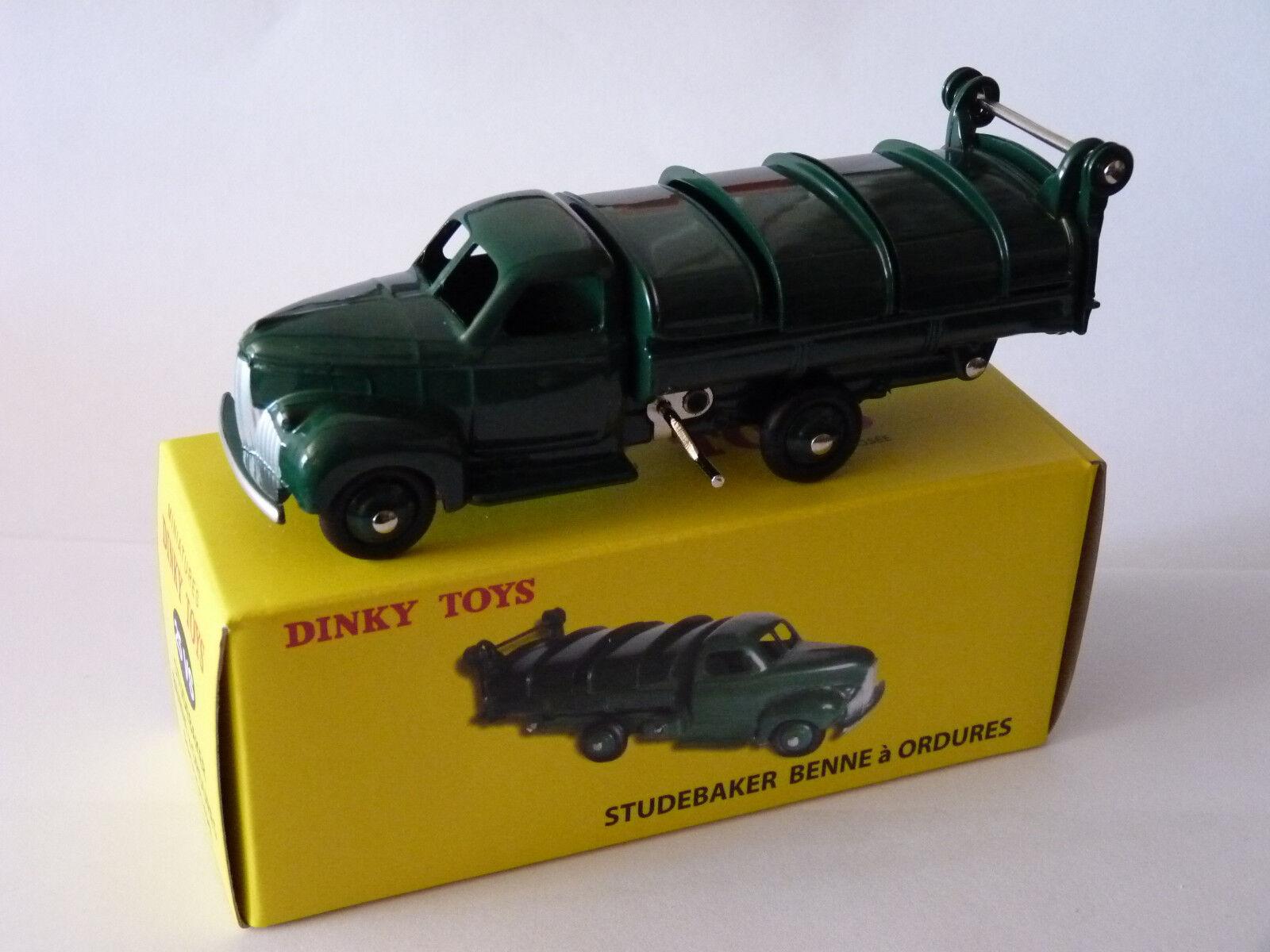 Studebaker Studebaker Studebaker skip to garbage - predotype - ref 25 VS dinky toys atlas 5e4832