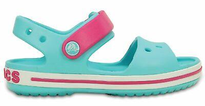 Humorvoll Crocs Kinder Sport Freizeit Sandale Schuhe Kids' Crocband™ Sandal Blau Pink Angemessener Preis