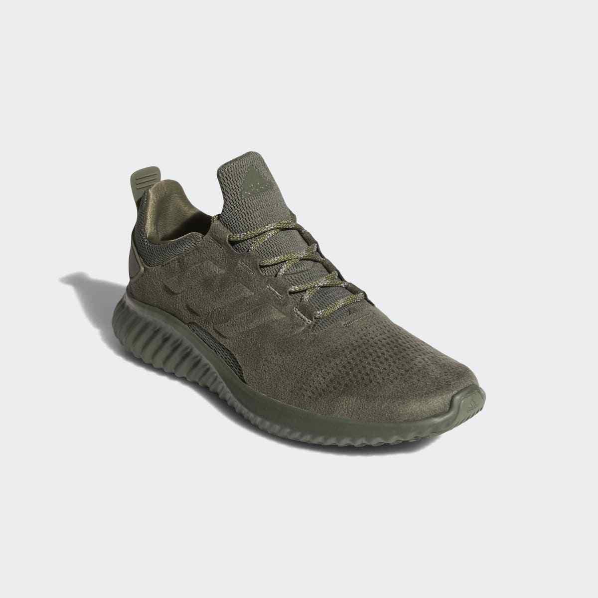 Férfi ADIDAS ALPHABOUNCE CITY BOUNCE SHOES CG4572 Base Zöld cipők ÚJ