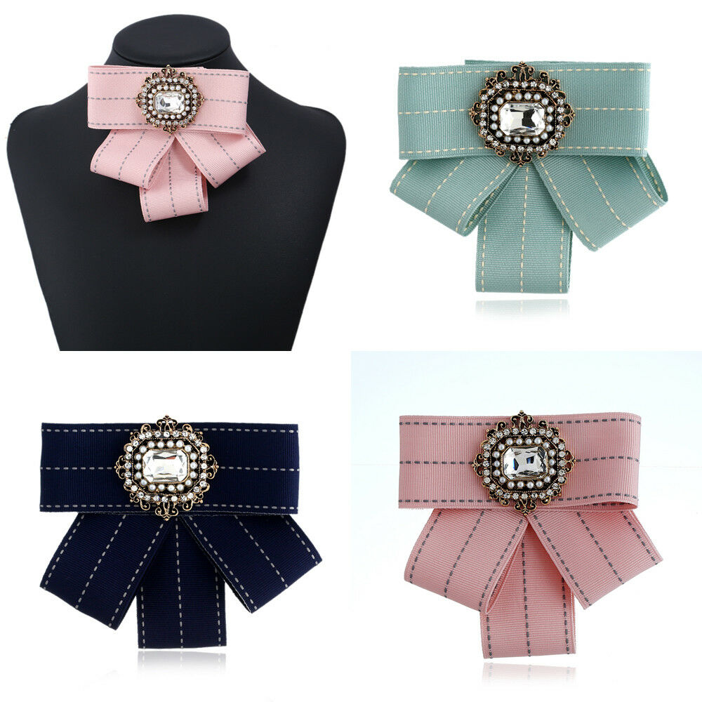Christmas Women Solid Bow Tie Decorate Party Xmas Banquet Adjustable Necktie New