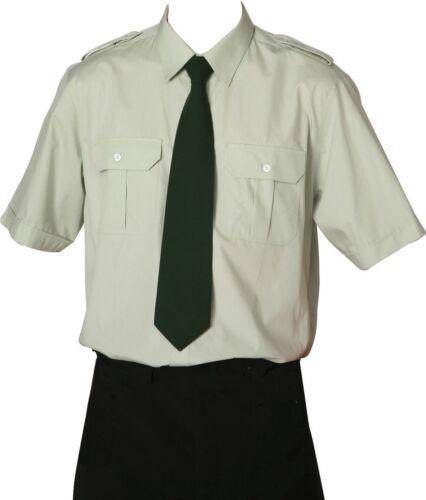 Camicia pilota Uniform Camicia Camicia servizio proteggere Camicia Camicia 1/2 braccio Lind
