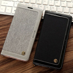 Leather-Flip-Stand-Wallet-Case-W-Strap-Cover-For-Samsung-Galaxy-S8-Plus-S7-Edge