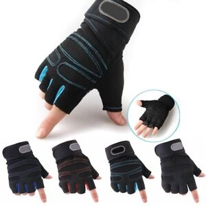 Weight-lifting-Gym-Gloves-Training-Fitness-Wrist-Wrap-Workout-Exercise-Sports-CA