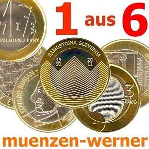Sondermünzen Slowenien 3 Euro Münze 20xx 1 Aus 6 Sondermünze