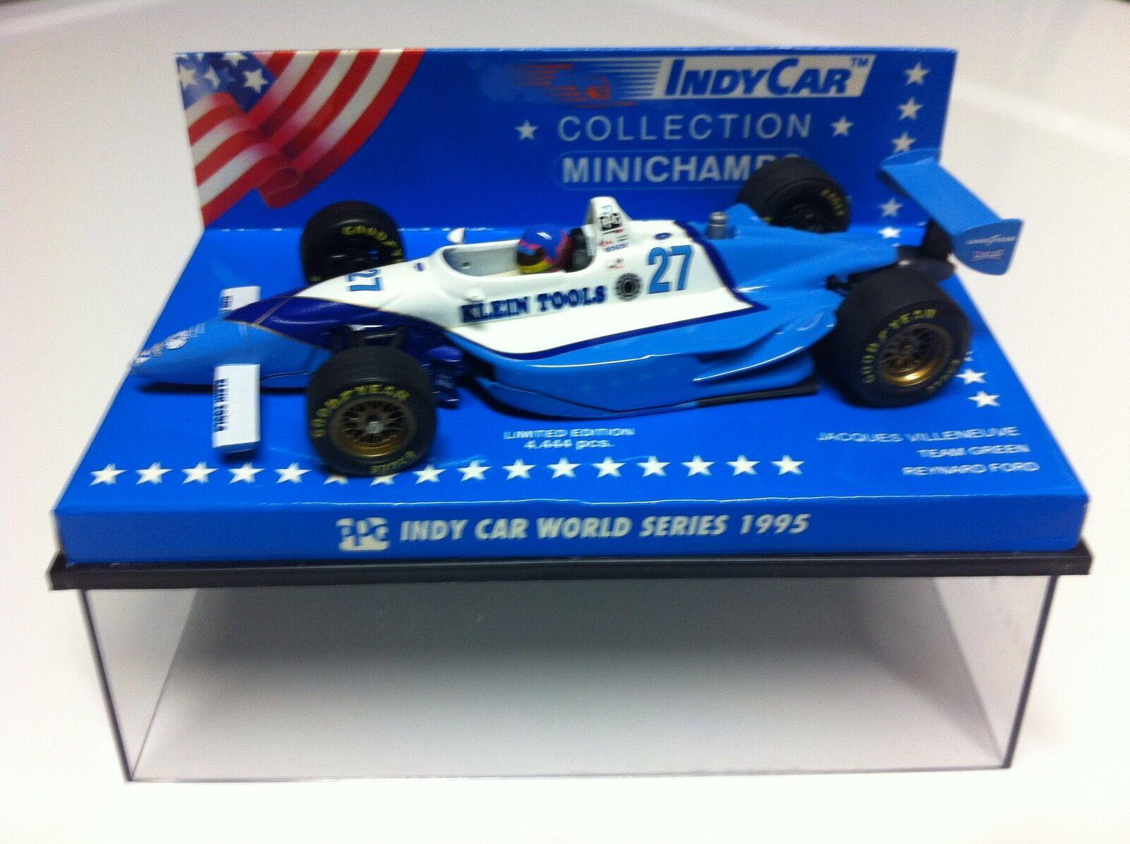 fino al 65% di sconto Minichamps 1995 Jacques Villeneuve Forsythe Indy 500 Winner 1 1 1 43  marchi di stilisti economici