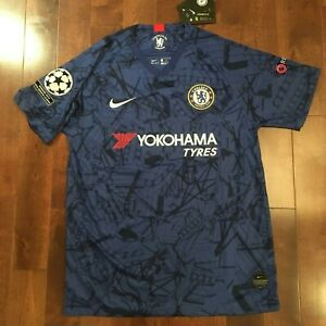 half off 5a86b 89910 Details about Nike Chelsea 2019/20 EUROPA LEAGUE Jersey S - M - L - XL  EUROPA CHAMPIONS PATCH