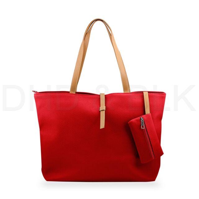 New Womens Leather Fashion Messenger Handbag Lady Shoulder Bag Totes Purse Hobo