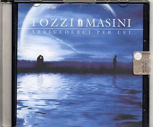 UMBERTO-TOZZI-MARCO-MASINI-CD-single-1-traccia-PROMO-Arrivederci-per-lei-SIGILL