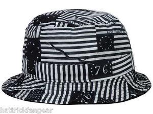 be16e296332 ORIGINAL CHUCK OLD GLORY BUCKET STYLE CAP HAT - OSFM 858529005071