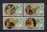 Niue 1982 SG#469-72 Royal Birth Christmas MNH Set