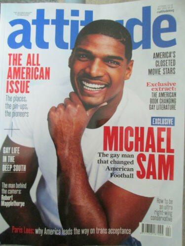 1 of 1 - Attitude Magazine - Issue 269 the all american issue May 2016